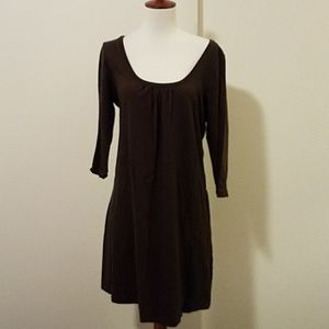 Old Navy brown cotton dress